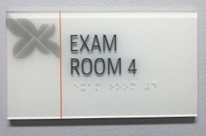 Room ID Signs acrylic indoor lobby wayfinding 300x198